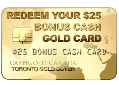 gold bonus card