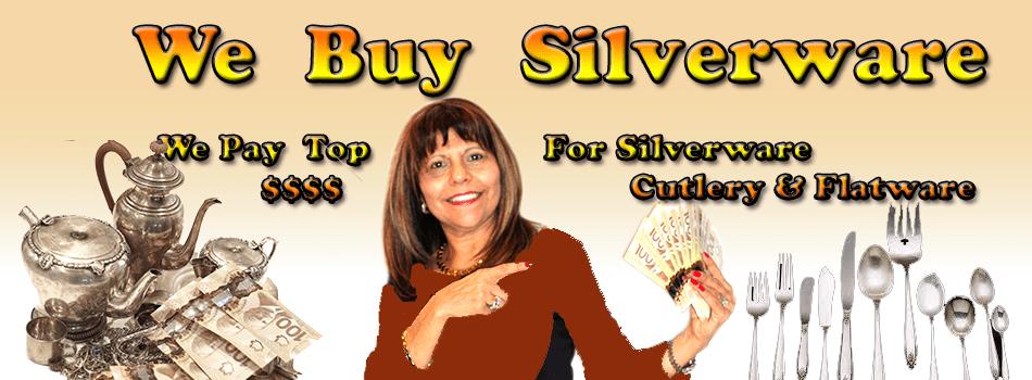 we buy silver flateware